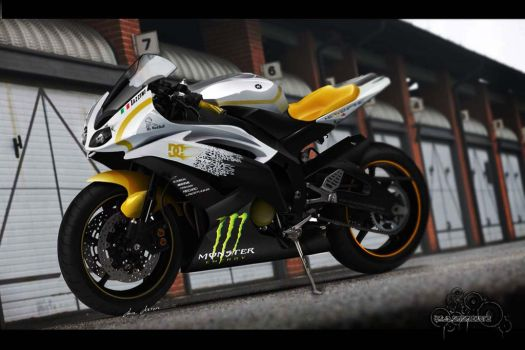 Yamaha R6 Monster NRG by LazziTuning