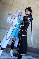 Sword Art Online - Alfheim Asuna and Kirito by GreenTea-Cosplay
