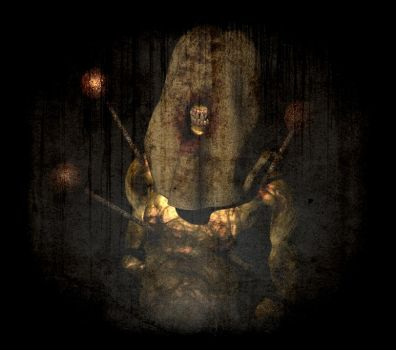 Silent Hill Hooded Monster by Zombuffalo
