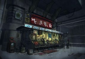 Convenience Store by chrislazzer