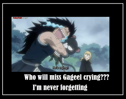 Gageel Crying by AnimeLoverxx123