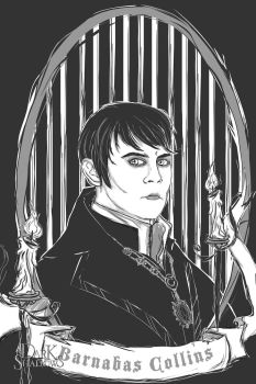 Barnabas - His Portrait in Black by AetherWidgets