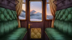 Carriage - Visual Novel BG by gin-1994