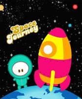 space journey by CatTumpahCommunity