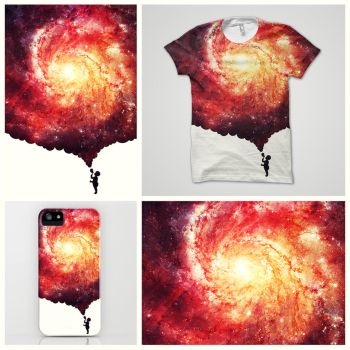 The universe in a soap-bubble! @threadless by mrsbadbugs