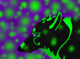 Tanner the toxic wolf by Renwolf12