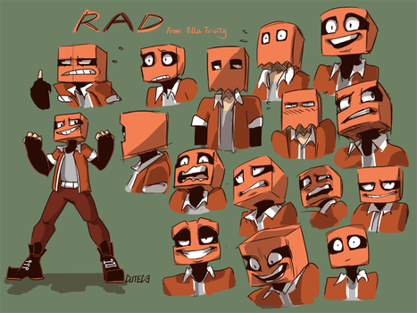 Rad Character Designs by CuteC3