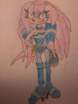 sky the echidna by byronalex123