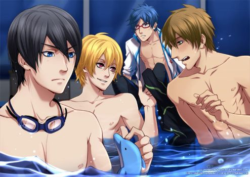 Free: iwatobi swimming club by yuki-k
