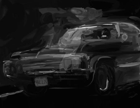 Impala Painting by WerewolfCas