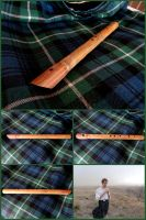 FREE ST.PATTY'S GIVEAWAY: Pennywhistle in Verawood by xofox