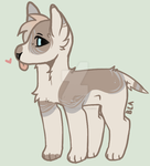 closed-hq pupper adopt by 1Unknownsoul1