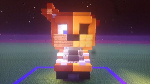 build battle with meh friend again.. this is mine! by Dokter-Creeper
