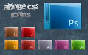Adobe CS5 Icons by Robsonbillponte666