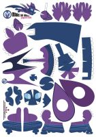 Mare Do Well Papercraft Pattern by Kna