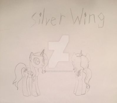 Silver Wing drawn in the Shows style :) by Izzybizzy29