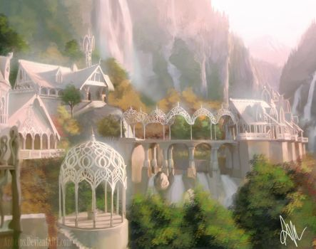 Rivendell is SHINY by Aphelps