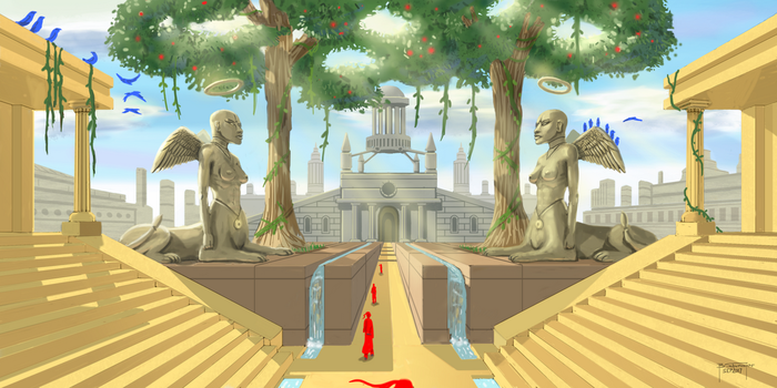 Philosophy Temple by bschu