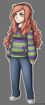 Vivian James - Fanart by HenLP