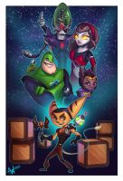 Ratchet and Clank: Up Your Arsenal by Lushies-Art