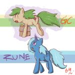 [OC]Rune And GC by tikrs007