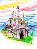 Disney Castle by NikitaLaChance