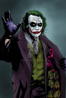 Dark Knight Joker. by mike-mcgee