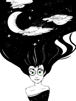 Space Girl by Espell