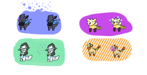 |PKMNation| Some adorable moves - payment by PixelDonutCat