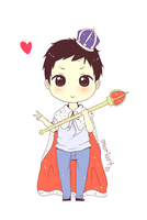 Chibi Moriarty x3 by Anniih