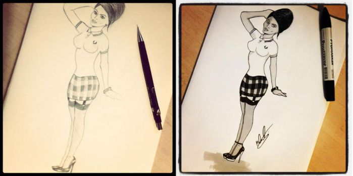 Quick Tattoo Sketches by MykFranklin
