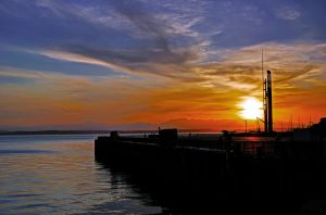 Fireball in Seattle 2 by Mackingster