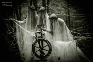 The three Norns by LucreciaMortishia