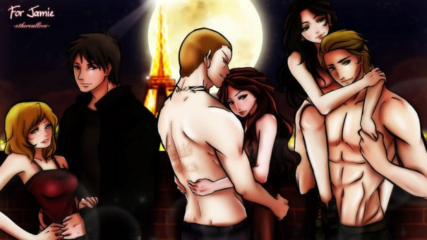 Paranormal Romance Couples by annria2002