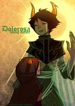 Mother Dolorosa by Shilloshilloh