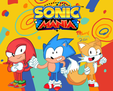Sonic Mania! by PieLordPictures