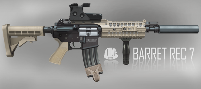 Barret M468 REC7 Assault Rifle by Gasteiz