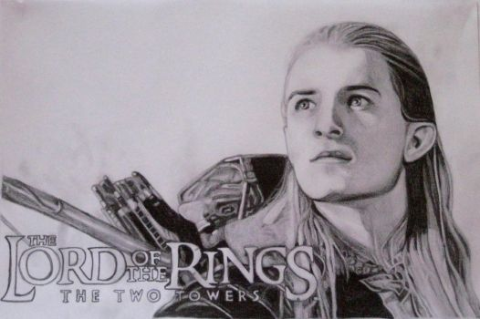 Legolas Two Towers by Emerald25