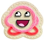 Awesome Face Yarn Kirby by Victorioso