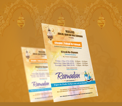 Ramadan Event design by ElsharQawy