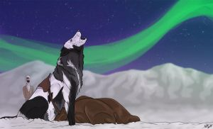Howling to the Stars by ArtisticAngels