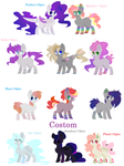 More adopts(open) by ShorkLife