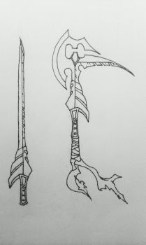 Weapon Designs (Contest) by KingJude
