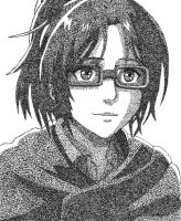 Pointillism Hanji Zoe by FeralFighter