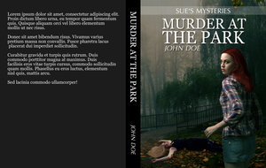 Book Cover Mockup - Murder At The Park by ThePhotoLift