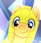 Flash Sentry's Face Reference by ChainChomp2
