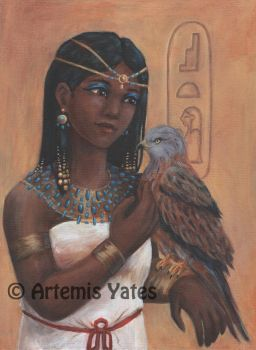 Mother Isis by Artemis-Yates