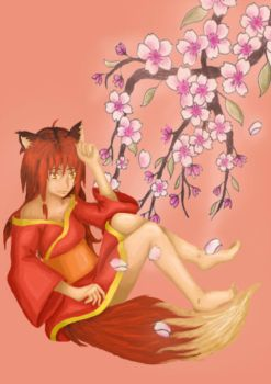 Kitsune Oni by The-Musicians-Artist