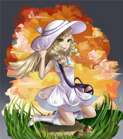 Pokemon Sun and Moon: Lillie by AriSotnia