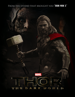 THOR: THE DARK WORLD - Poster I by MrSteiners